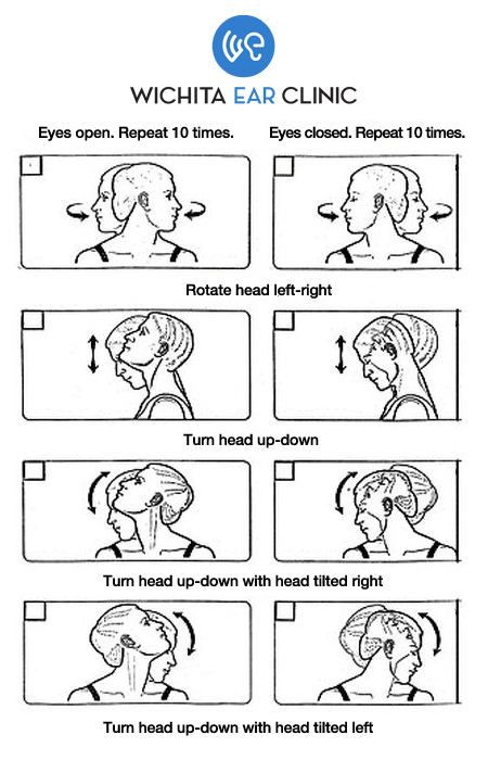 Wichita Ear Clinic Exercises